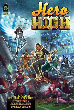 Mutants and Mastermind Hero High roleplaying supplement